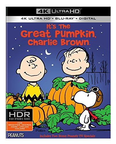 Peanuts It's The Great Pumpkin Charlie Brown 4khd G