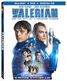 Valerian & The City Of A Thousand Planets Dehaan Delevingne Owen Blu Ray DVD Dc Pg13