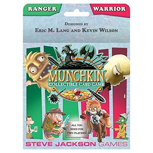 Munchkin Card Game Ranger & Warrior Starter Set