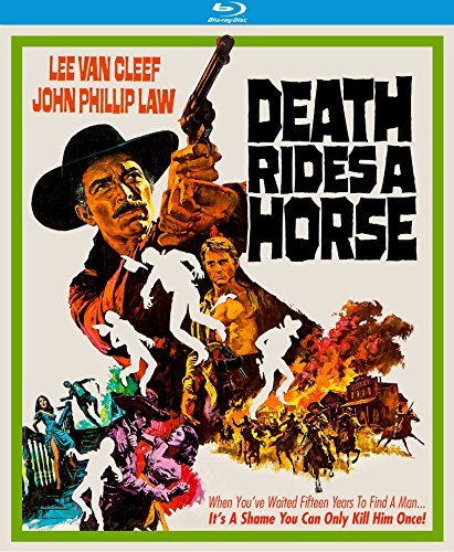 Death Rides A Horse Van Cleef Law Blu Ray R