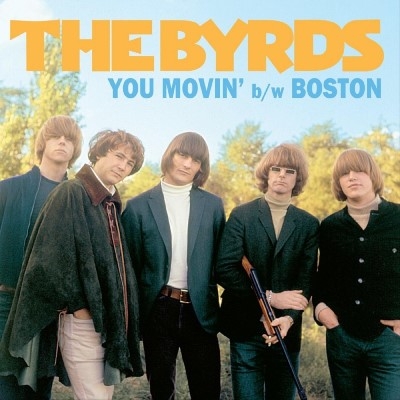 "The Byrds You Movin' Boston 7"" Vinyl Limited Edition Colored Vinyl W Gorgeous Picture Sleeve!"