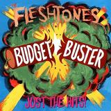 The Fleshtones Budget Buster Single Lp Jacket On Explosive Red And Yellow Splattered Vinyl