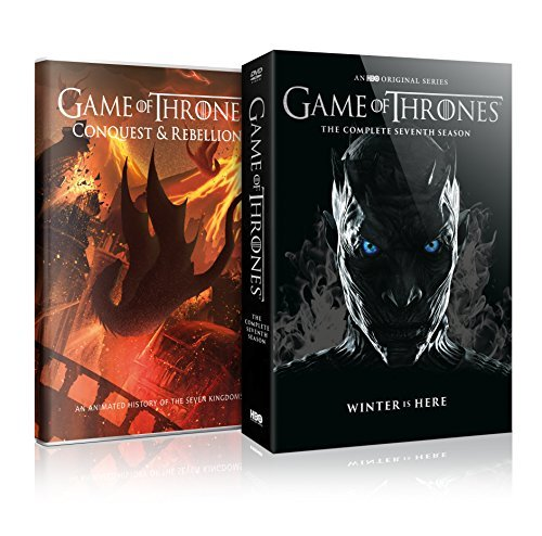 Game Of Thrones Season 7 DVD First Edition Conquest & Rebellion Package