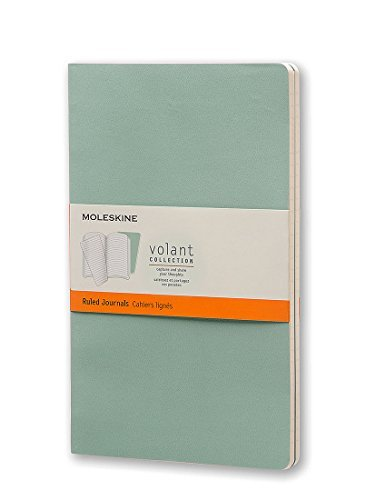 Moleskine Moleskine Volant Journal (set Of 2) Large Ruled