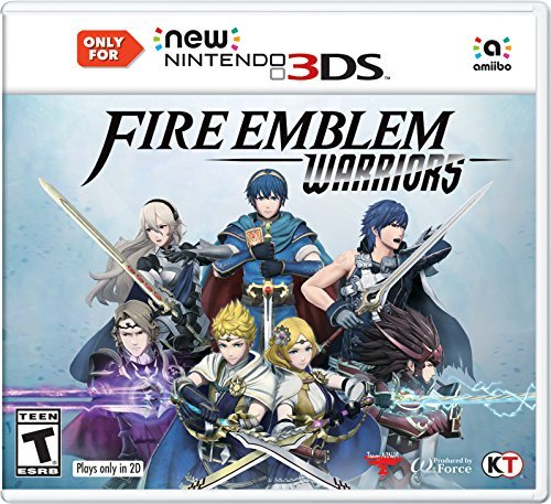 Nintendo 3ds Fire Emblem Warriors ***not Compatible With Old 3ds***