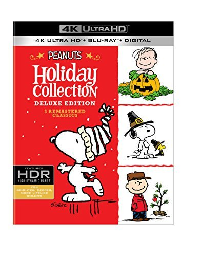Peanuts Holiday Collection 4k