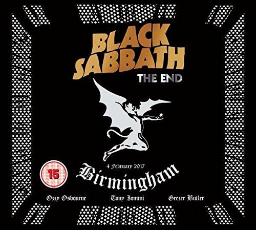Black Sabbath The End CD DVD