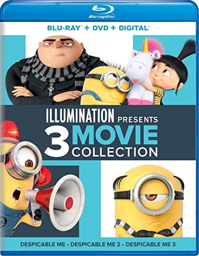 Despicable Me Illumination Presents 3 Movie Collection Blu Ray Pg