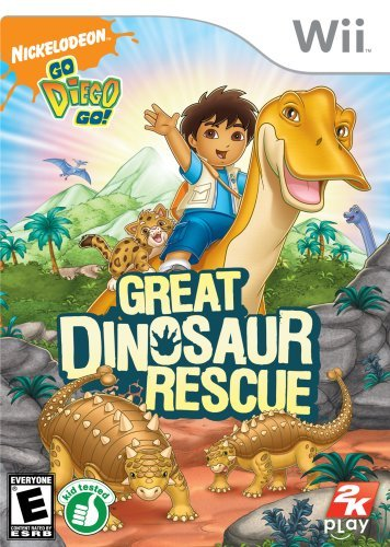 Wii Go Diego Go Great Dinosaur Rescue