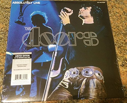 Doors Absolutely Live 2lp Midnight Blue Vinyl
