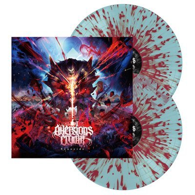 Aversions Crown Xenocide (blue Red Splatter)