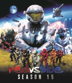 Red Vs. Blue Season 15 DVD