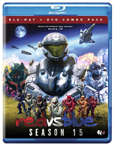 Red Vs. Blue Season 15 Blu Ray