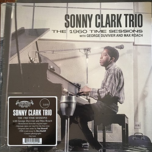 Sonny Clark Trio The 1960 Time Sessions With George Duvivier & Max Roach 2 Lp