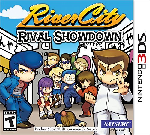 Nintendo 3ds River City Rival Showdown (limited Riki Keychain Edition)