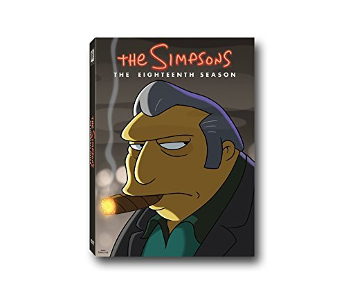 Simpsons Season 18 DVD