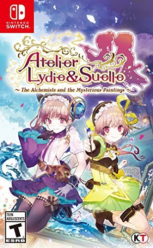 Nintendo Switch Atelier Lydie & Suelle The Alchemists And The Mysterious Paintings
