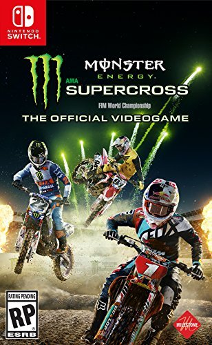 Nintendo Switch Monster Energy Supercross Official Videogame