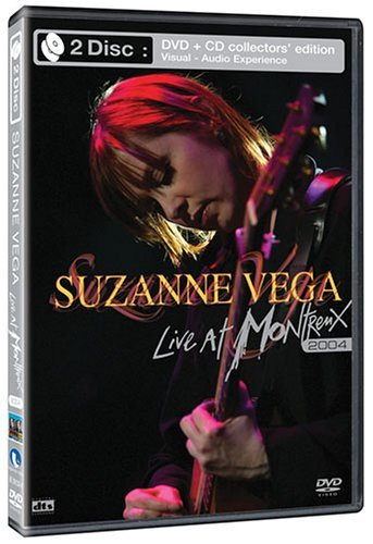 Suzanne Vega Live At Montreux 2004 Ws CD DVD
