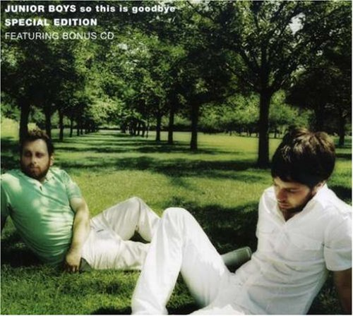 Junior Boys So This Is Goodbye Deluxe Ed. 2 CD Set