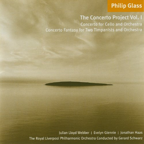 P. Glass Concerto Project Vol.1 Cello C Schwarz Royal Liverpool Po