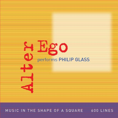 P. Glass Alter Ego Performs Philip Glas Alter Ego 2 CD