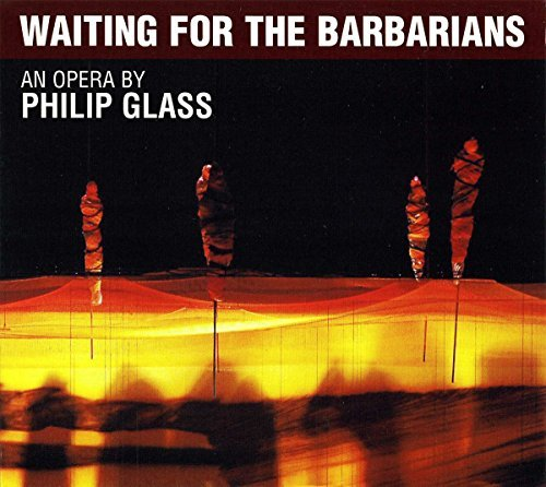 P. Glass Waiting For The Barbarians 2 CD Davies Erfurt Philharmonic Orc