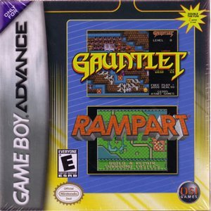 Gba Gauntlet & Rampart Dual Pack