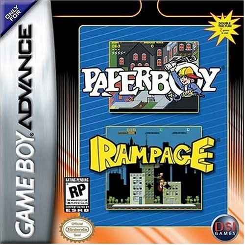 Gba Paperboy Rampage