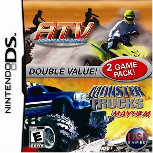 Ninds Atv Thunder Ridge Riders & Monster Truck Mayhem E