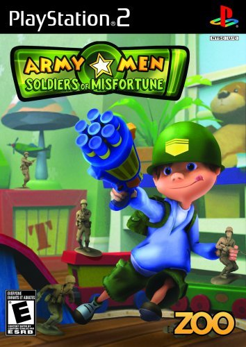 Ps2 Army Men Soldiers Of Misfortu