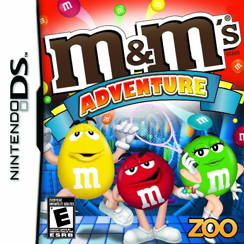 Nintendo Ds M&ms Adventure Zoo Games Inc. Fka Destination E