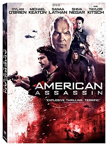 American Assassin O'brien Keaton Lathan DVD R