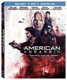 American Assassin O'brien Keaton Lathan Blu Ray DVD Dc R