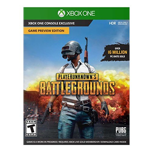 Xbox One Playerunknown's Battlegrounds Game Preview Edition ***non Returnable***digital Token Card***