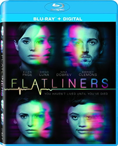 Flatliners (2017) Page Luna Blu Ray Dc Pg13