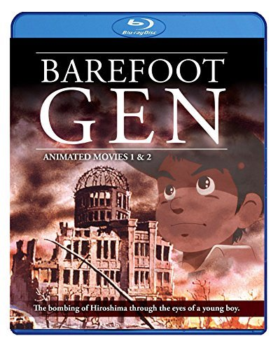 Barefoot Gen Movies 1 & 2 Blu Ray Nr