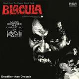Blacula Soundtrack (red Vinyl) Gene Page Uk Records Store Day Title