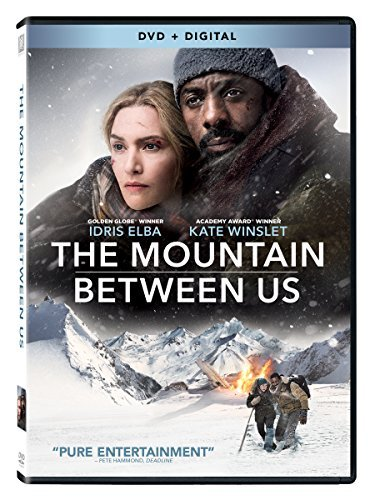 Mountain Between Us Elba Winslet DVD Dc Pg13