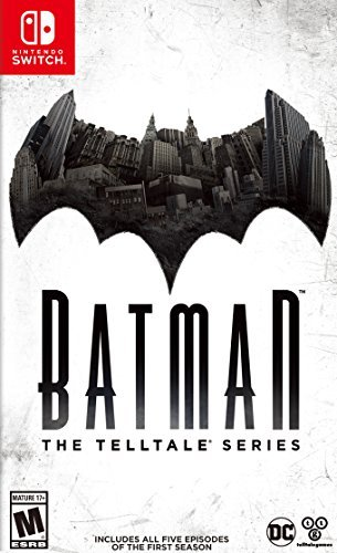 Nintendo Switch Batman Telltale Series Season 1