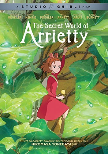 Secret World Of Arrietty Studio Ghibli DVD G