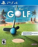 Ps4 3d Mini Golf
