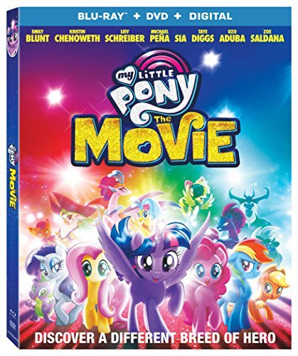 My Little Pony The Movie My Little Pony The Movie Blu Ray DVD Dc Pg