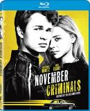 November Criminals Moretz Elgort Blu Ray Pg13