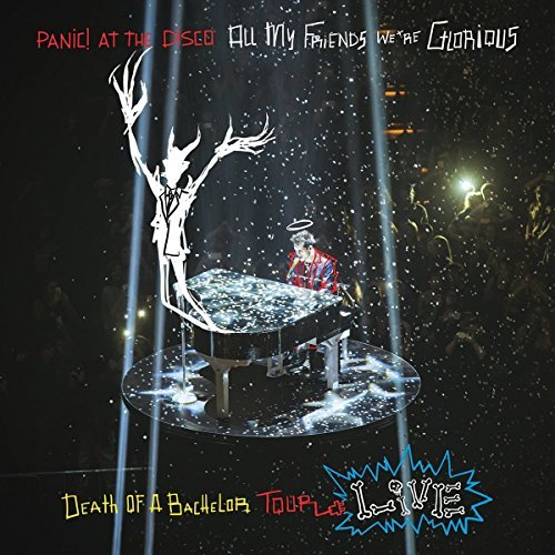 Panic At The Disco All My Friends We're Glorious Death Of A Bachelor Tour Live 2lp