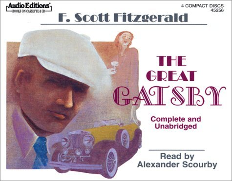 Scourby Alexander Fitzgerald F. Scott The Great Gatsby