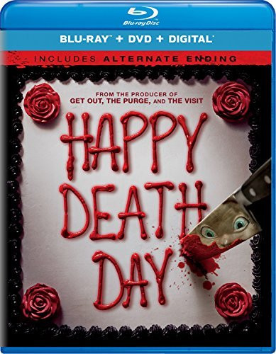 Happy Death Day Rothe Broussard Modine Blu Ray DVD Dc Pg13