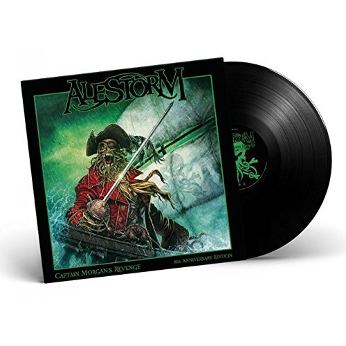 Alestorm Captain Morgan's Revenge 10th Anniversary Edition