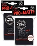 Card Sleeves Black Pro Matte Card Sleeves 50ct Pack Standard Size