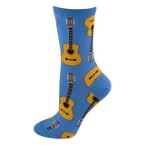 Socks Womens Crew Guitars Cfb